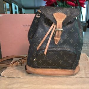 🌼SOLD!!🌸 Louis Vuitton Montsouris MM Backpack
